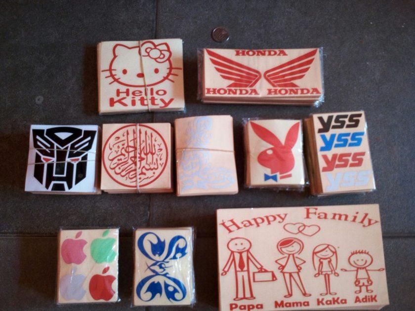 Sticker Cutting Biasa