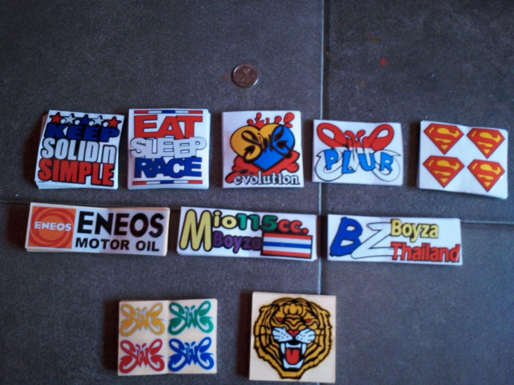 Sticker Cutting Tumpuk